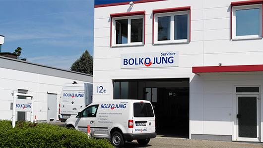 Kontakt - die Bolko Jung GmbH - Ihr Partner für perfekte Hygiene